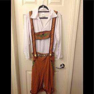 Bavarian Men's 2 Piece Costume 👨🏼🌾 NWT 🎄